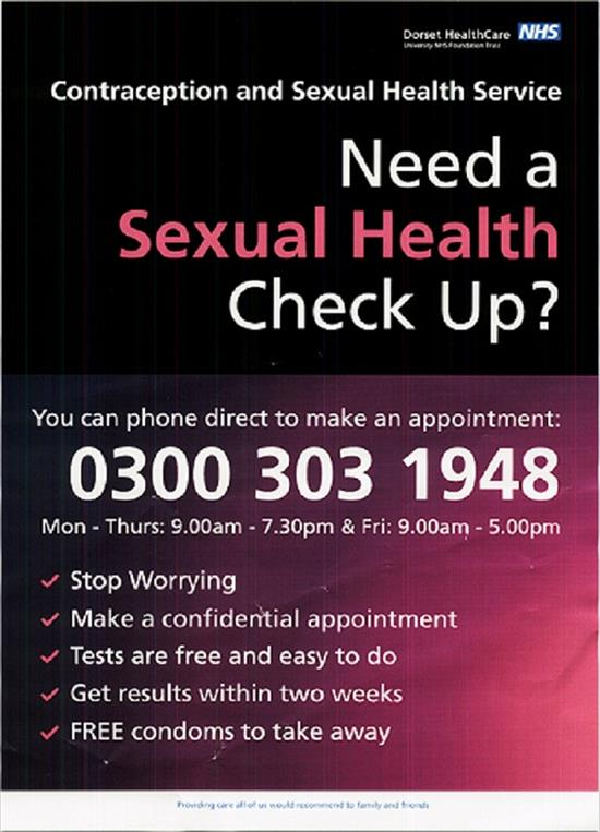 Sexual health checks